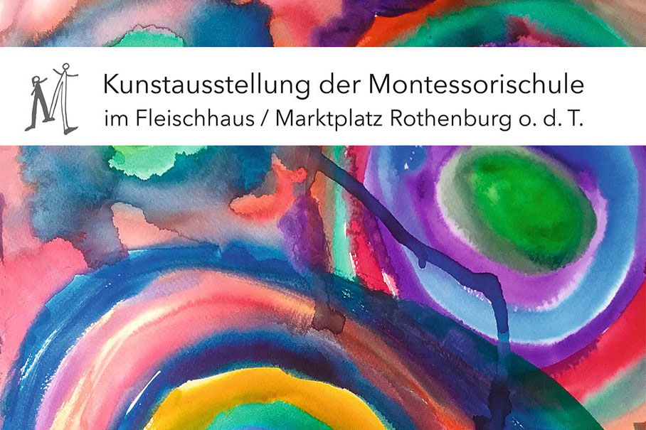 Vernissage der Montessorischule